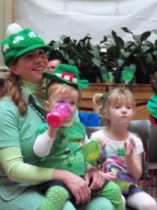 Irish mom and babes