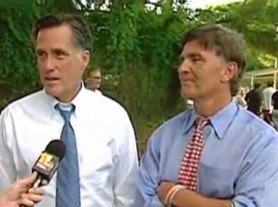 Mitt Romney with Bob Ehrlich.